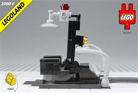 chaise électrique lego electric chair far