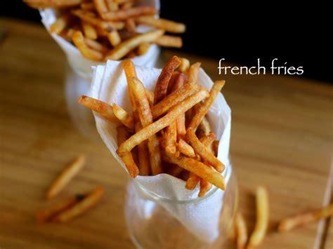 french fries recipe crispy potato finger chips recipe