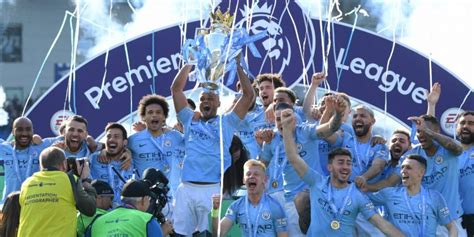moment manchester city lifted  historic
