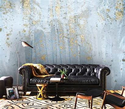 Peel Stick Adhesive Gold Abstract Vinyl Decals