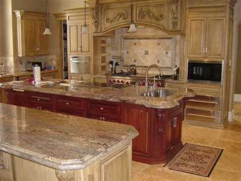 typhoon bordeaux granite with cherry cabinets   Google