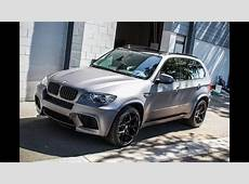 BMW X5 M Matte Metallic Grey Vinyl Wrap SS Customs