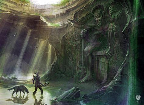 Artwork Shrine Of Mehrunes Dagon Skyrim Bethesda Softworks