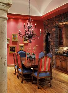 Indian Dining Room Interior Theme #1113