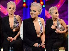 Rita Ora Suffers Nip Slip At Alan Carr's Talk Show Filmibeat