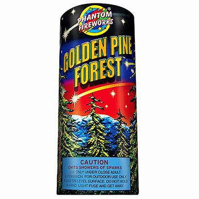 Fireworks Fountains Golden Forest Fountain Pine Aerial