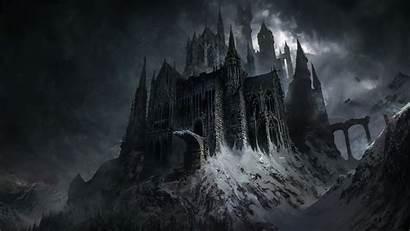 Dark Fantasy Castle Evil Wallpapers Resolution 1440p