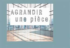 Comment Agrandir Une Piece Rectangulaire : comment agrandir une pi ce couleur et d co murale ~ Melissatoandfro.com Idées de Décoration