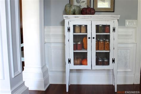 diy kitchen cabinet plans jelly cabinet free diy plans rogue engineer 6828