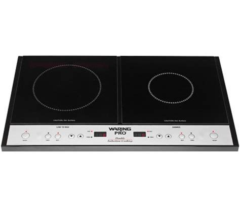 waring pro double induction cooktop qvccom