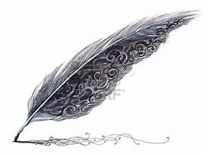 la plume est à l'ecriture, ce que l'air est à nos vies ...