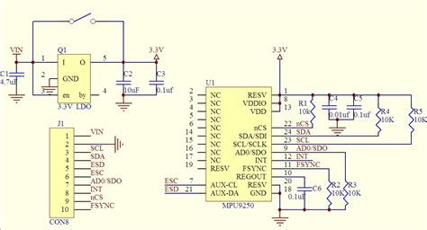 Accelerometer What Value Pull Resistors Does The