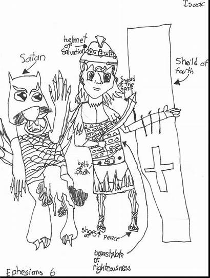 God Coloring Armor Pages Armour Getdrawings Coloringhome