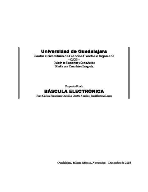 balanzas basculas diagramasde diagramas electronicos y diagramas el 233 ctricos