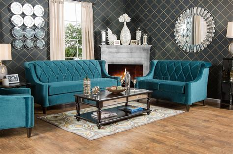 Limerick Sm Sofa In Dark Teal Fabric W Options