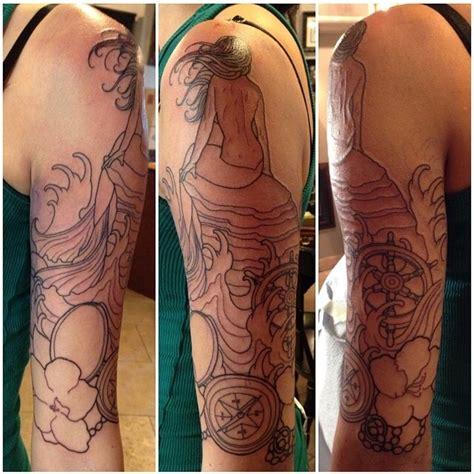 tattoo outline  sarah genereux san diego tattoo artist