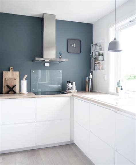 cuisine pourpre 1001 idées pour une cuisine bleu canard les intérieurs