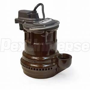 Liberty Pumps 240 Manual Sump Pump