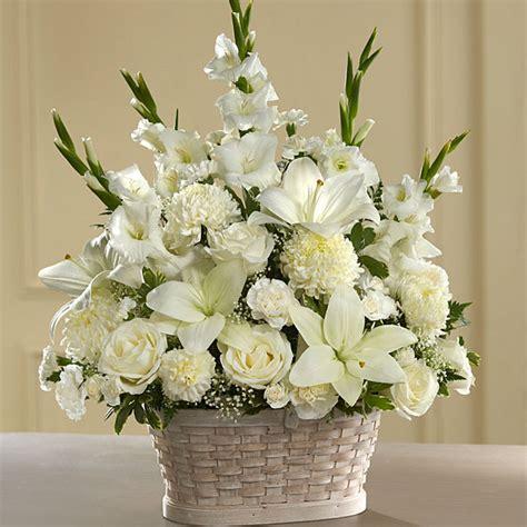 peaceful passage arrangement judys village flowers