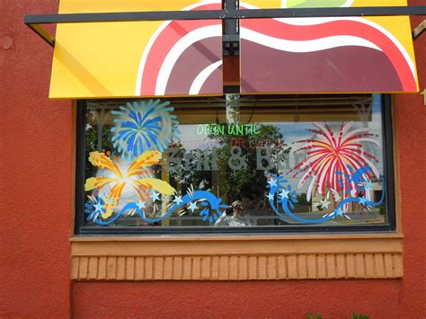 window paintings  holidays  special