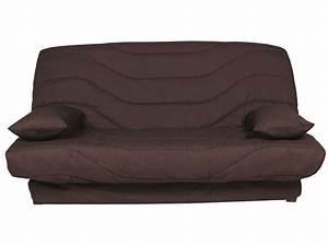 Housse De Canapé Conforama : couette clic clac 140 cm prima chocolat uni vente de ~ Dailycaller-alerts.com Idées de Décoration