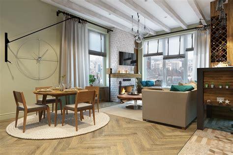 decorar salon pequeno  estilo  modernidad