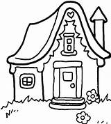Coloring Pages Gingerbread Printable Cabin Log Houses Colouring Christmas Clipartpanda Clipartmag Clipart Books Designs sketch template