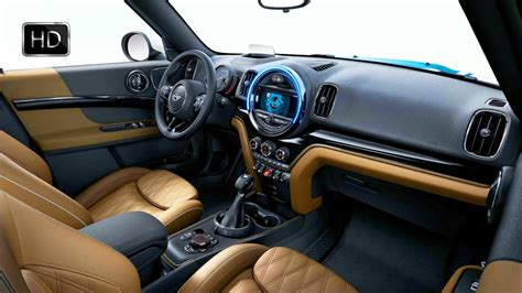 mini cooper  countryman  luggage compartment interior design overview hd youtube
