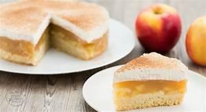 Apfeltorte mit Sahne und Zimt Backen macht glücklich