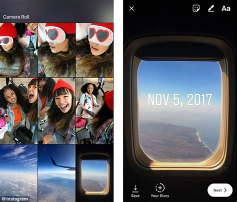 instagram copies snapchat    throwback feature