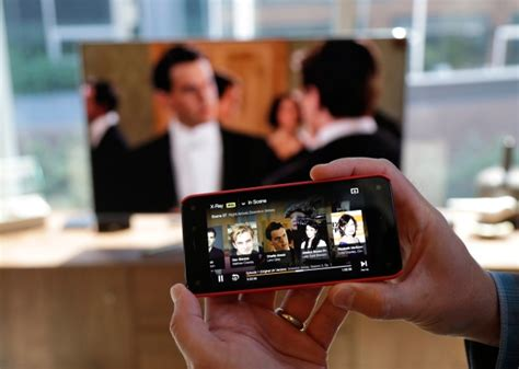 how to on tv from phone tv time declines as smartphone tablet use grows