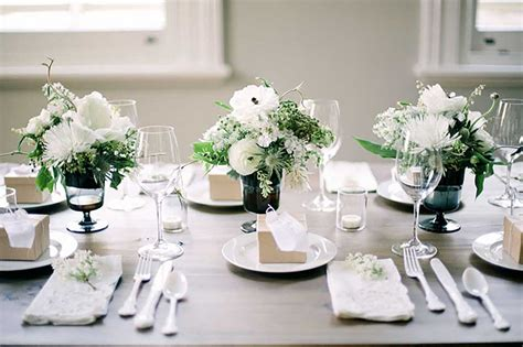 Wedding Decoration Minimalist by 10 Minimalist Wedding Centerpieces With Beautiful Designs
