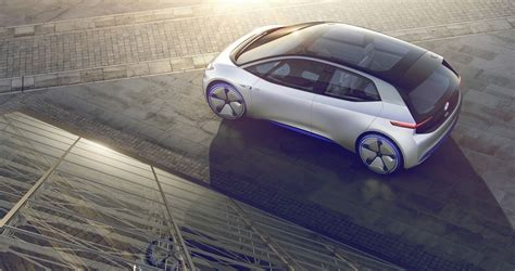 Volkswagen Id Concept Is Fully Electric And Totally