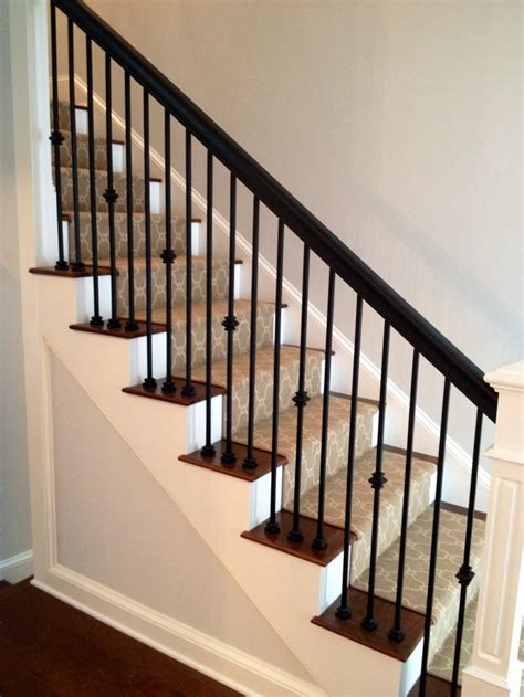 wood handrail ideas  pinterest em stairs  handrails wood stair handrail
