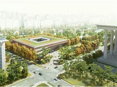 Architecture Assembly Seoul National Haeahn Center Complex