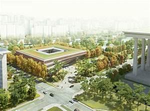 Winning Design For Seoul U0026 39 S National Assembly Smart Work