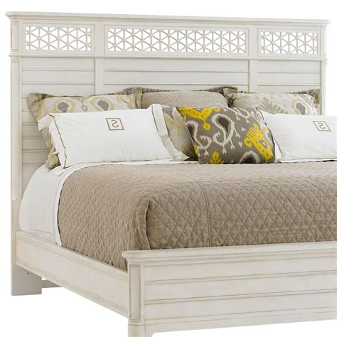 Wood Headboards King by Stanley Furniture Cypress Grove 451 23 145 Cottage Style