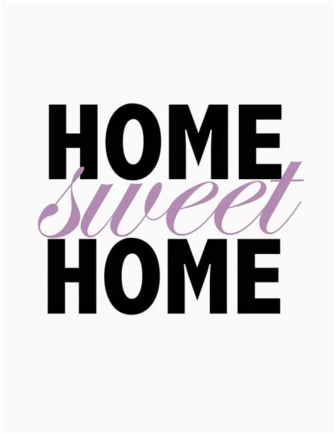 Home Sweet Home Printable  Short Stop Designs