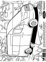 Transit Ford Quiver Coloring Fun sketch template