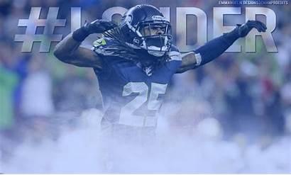 Sherman Richard Legion Seahawks Boom Background Seattle