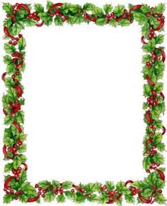 Printable Christmas Page Borders
