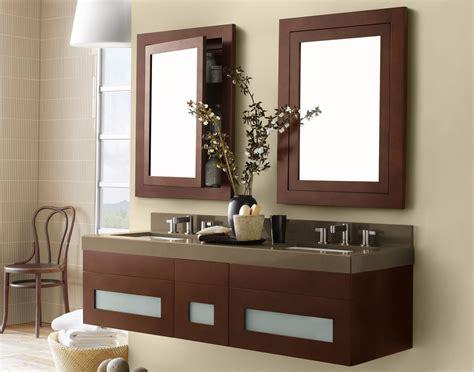 Amusing Wooden Ronbow Vanity For Bathroom