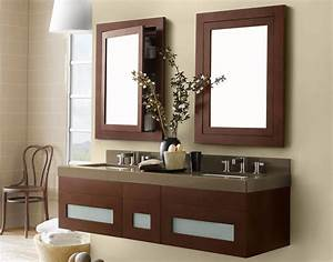 Bathroom design amusing wooden ronbow vanity for bathroom for Kitchen cabinets lowes with wall decor mirrors art