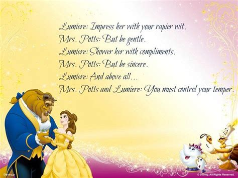 disney beauty   beast quotes  images beast quotes