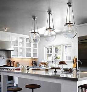 Modern pendant lighting for kitchen island home design