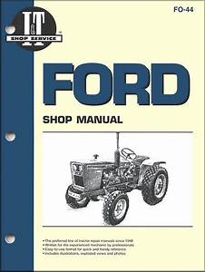 Ford Tractor Repair Manual By Clymer