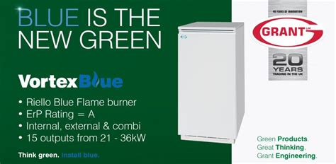 Grant Uk Introduces Even Cleaner Blue Flame™ Technology To