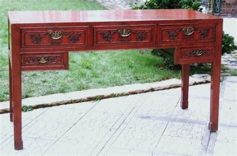 bureau asiatique bureau chinois ancien laque galerie tao