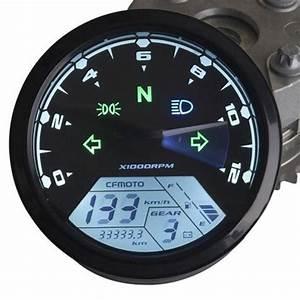 Universal 12000rmp Lcd Digital Speedometer Odometer
