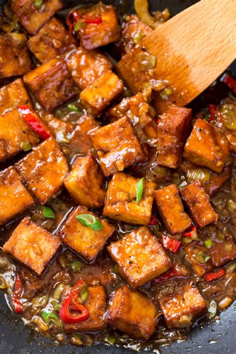 cuisine tofu vegan black pepper tofu lazy cat kitchen